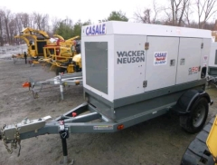 Used Equipment Sales GENERATOR, 53KVA TOW-BEHIND in Clifton Park NY