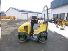 Used Equipment Sales Roller, Dual Drum 1 Ton in Clifton Park NY