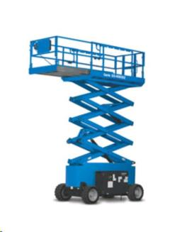 Rental store for 40  RT Scissor Lift w  Outriggers, D in Clifton Park NY