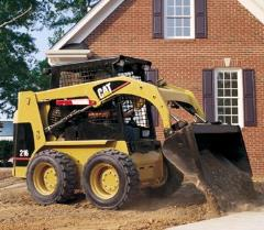Rental store for Skid Steer with Tires, 1500lb lift in Clifton Park NY