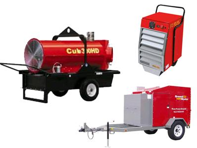 Heating & Ventilation Equipment Rentals in Albany NY, Colonie NY, Clifton Park, Westmere, Troy NY