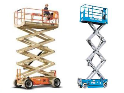 Rent Aerial Scissor Lifts