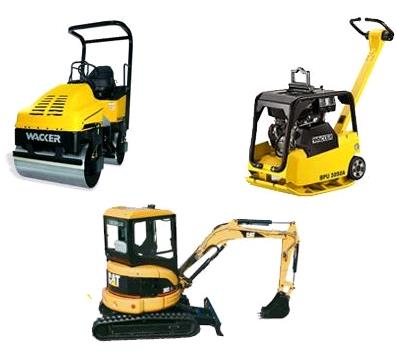 Rent Road Construction Equipment